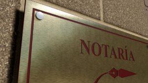 placa de empresa de laton grabada y esmaltada