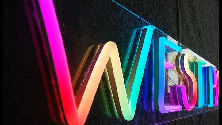 letras de neon